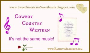 Article on Cowboy Music