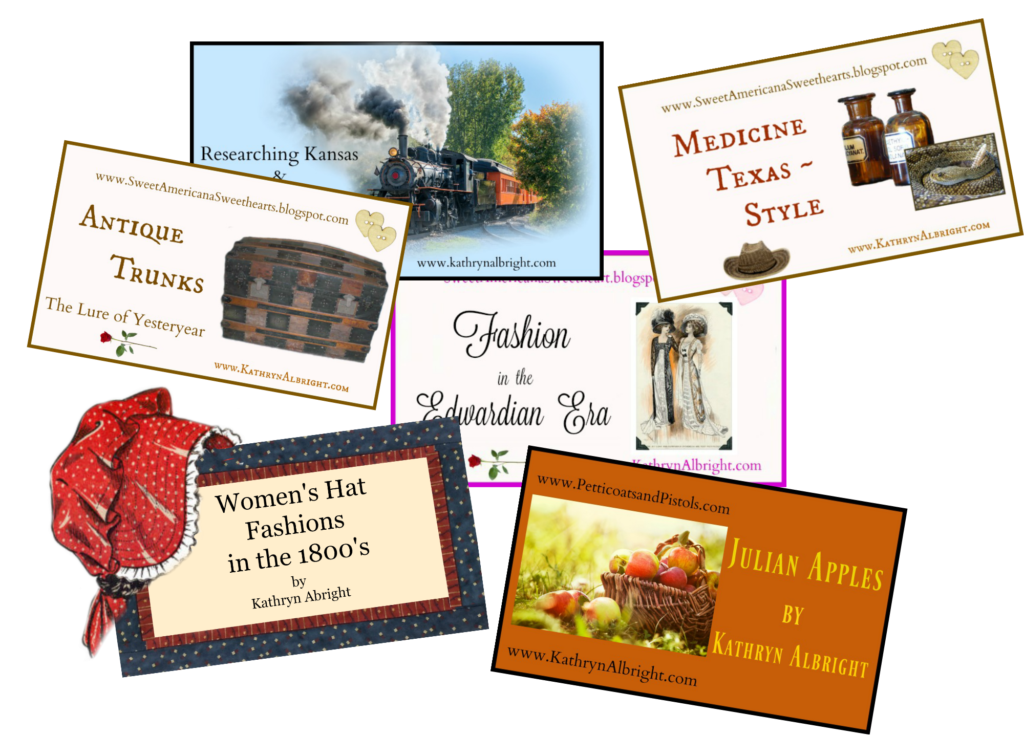 Articles from my historical research.