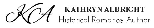 Kathryn Albright | Historical Romance Author