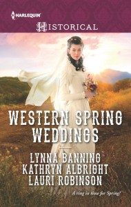 Western Spring Weddings Sweet Historical Romance