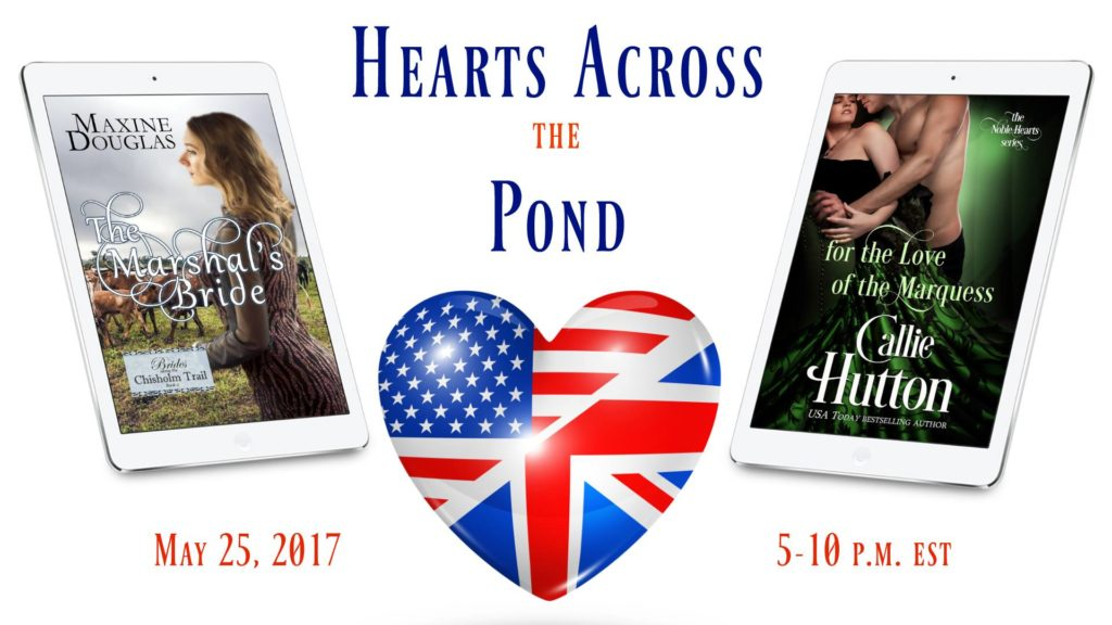 Facebook Party ~ Hearts Across the Pond