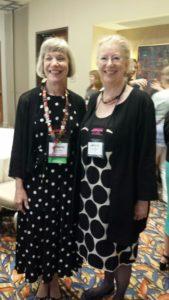 Blythe Gifford (author) & Linda Fildew (Senior Editor HH)