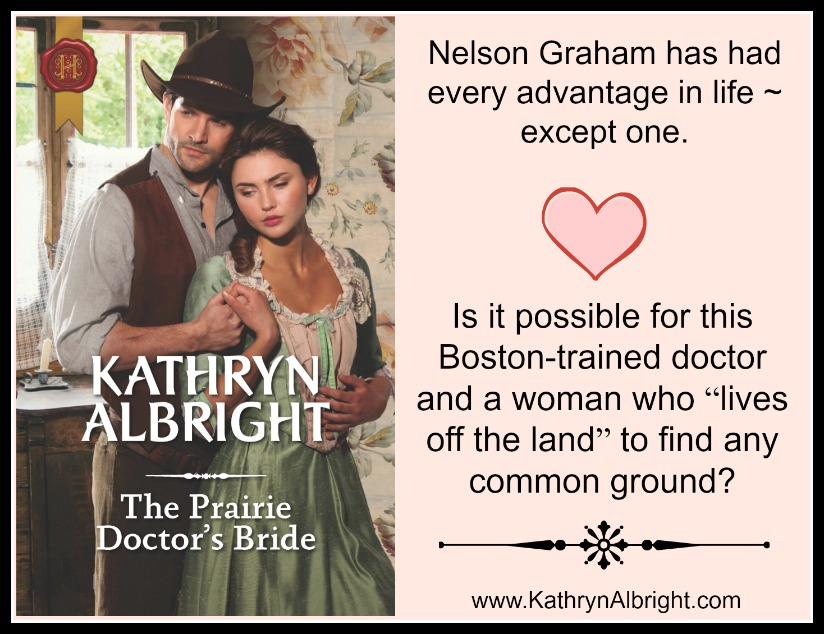 Promo for The Prairie Doctor's Bride