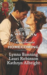 A Western Christmas Homecoming book cover